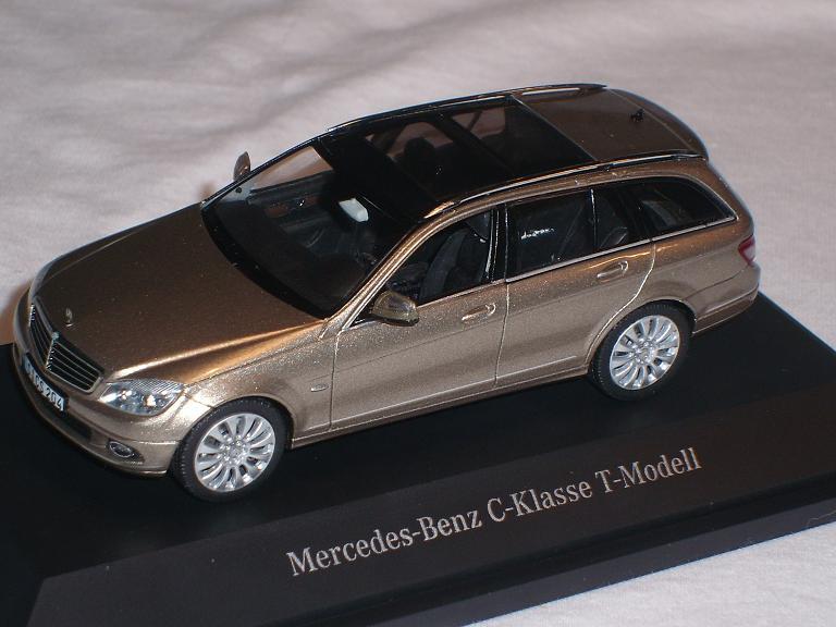 Mercedes-Benz C-Klasse W204 Kombi T-Modell T-Modell T-Modell Sanidin Beige 2007-2014 1 43 Schuco.. 4f905c